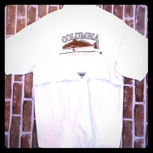 NWT COLUMBIA men's shirt, medium